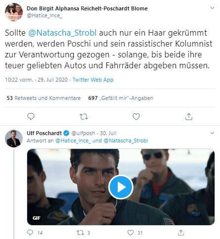 Unsterstützungs-Tweet an Natascha Strobl