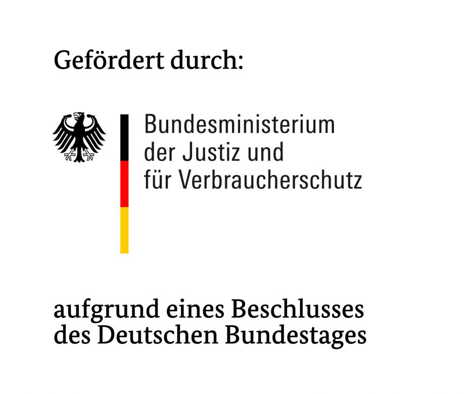 Logo des Bundesministeriums der Justiz und für Verbraucherschutz