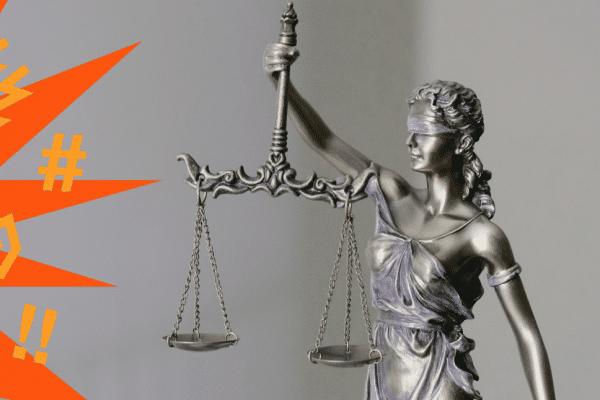 Justicia mit grafischer Darstellung von Bedrohung