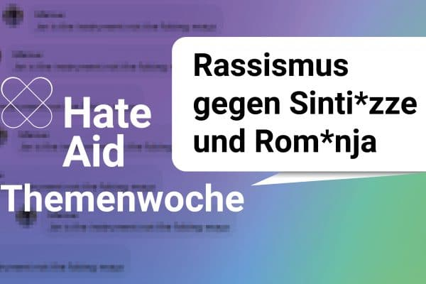 Themenwoche Rassismus gegen Sinti*zze und Rom*nja
