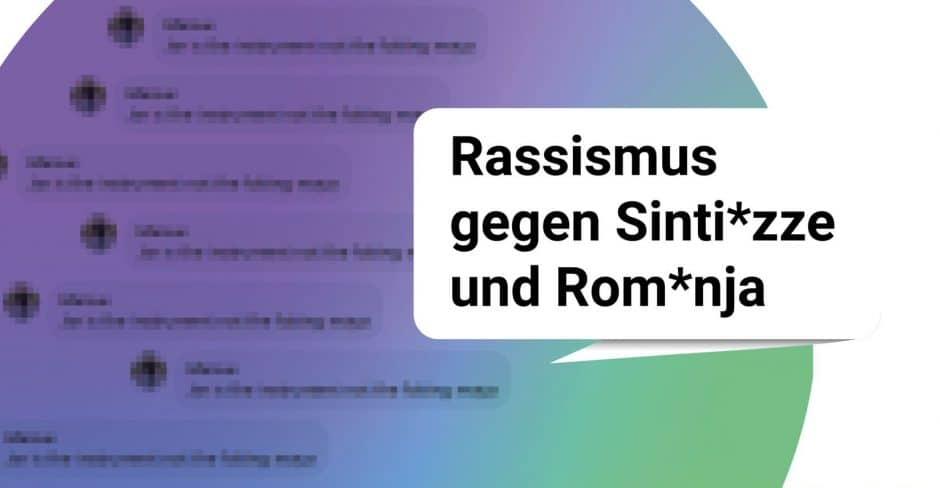 gepixelte Kommentare und Rassismus gegen Sintizze und Romnja