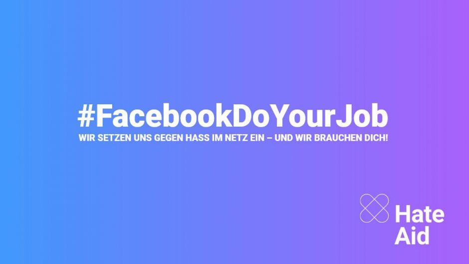 #FacebookDoYourJob