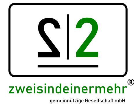 zweisindeinermehr Logo